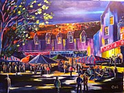 Scottish Art Originals - Edinburgh Festival by Colm OBrien