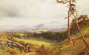 Scottish Art - Edinburgh from Corstorphine  by John MacWhirter