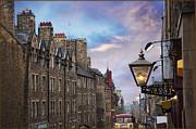Edinburgh Mile Print by Jeanne  Woods