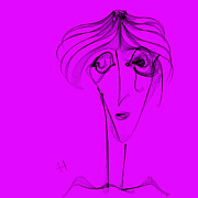 Edith Piaf Print by Hayrettin Karaerkek
