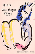 Mourlot Paintings - Edition Verve by Marc Chagall