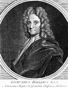 Discovered Photo Prints - Edmond Halley, English Polymath Print by Science Source