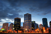 Ian Macdonald Metal Prints - Edmonton  Metal Print by Ian MacDonald