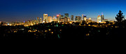 Edmonton Prints - Edmonton Skyline Summer Time Print by Terry Elniski