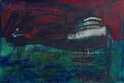 Great Lakes Ship Paintings - Edmund Fitzgerald by Les Leffingwell