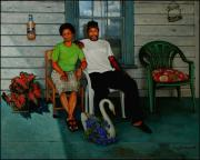 Rocking Chairs Originals - Edna and Sammy of Johnston County by Doug Strickland