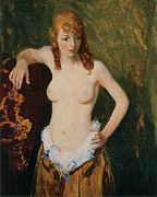 Clothed Art - Edna Smith by Robert Henri