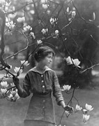 Author Prints - Edna St. Vincent Millay 1892-1950 Print by Everett