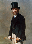 1867 Prints - Edouard Manet (1832-1883) Print by Granger