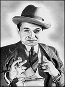 Etc. Drawings - Edward G. Robinson by Michael Yacono