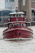 Fireboat Photographs Prints - Edward M Cotter Print by Guy Whiteley