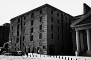 Liverpool Prints - Edward Pavilion Former Warehouse Building At The Albert Dock Liverpool Merseyside England Uk Print by Joe Fox
