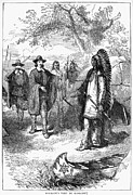 Wampanoag Prints - Edward Winslow (1595-1655) Print by Granger