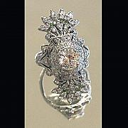 Wedding Ring Jewelry - Edwardian Wedding ring by Michelle  Robison