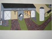 By Jeff Koss Paintings - Edwards Dairy Farm by Jeffrey Koss