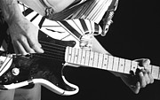 Edward Van Halen Art - Edwards Guitar by Ben Upham