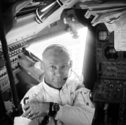 Buzz Prints - Edwin Buzz Aldrin (1930-) Print by Granger