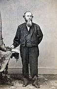 Edwin Stanton, Secretary Of War Ender Print by Everett