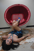 Femme Fatale Photos - Egg Chair - Grounded by Liezel Rubin
