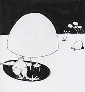 Phil Burns - Egg Drawing mm9903