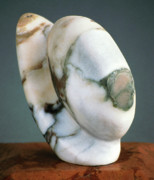 Distinctive Sculpture Prints - Egg Stand Print by Lonnie Tapia