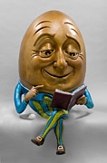 Egghead Print by Kimber Fiebiger