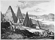 Fanciful Metal Prints - Egypt: Pyramids, 1670 Metal Print by Granger