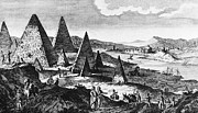 Fanciful Metal Prints - EGYPT: PYRAMIDS, c1780 Metal Print by Granger