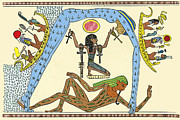 Myths Art - Egyptian Creation Myth by Sheila Terry
