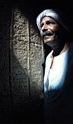 Dendera Prints - Egyptian Portrait 2 Print by Bob Christopher