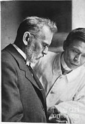 Hematology Framed Prints - Ehrlich And Hata, Discovered Syphilis Framed Print by Science Source