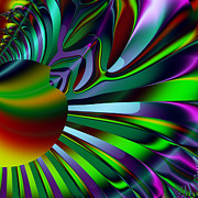 Fractal Geometry Digital Art - Eichler Is Lost . Square . S9 by Wingsdomain Art and Photography
