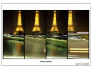 Mark Currier Art - Eiffel In Motion Series by Mark Currier