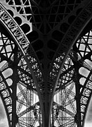 Eifel-tower Framed Prints - Eiffel Tower - Paris Framed Print by Juergen Weiss