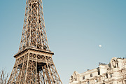 Eiffel Tower Metal Prints - Eiffel Tower Metal Print by © Yanidel