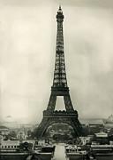 Eiffel Tower 1890 Print by Bill Cannon