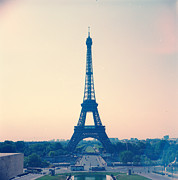 Eiffel Tower Metal Prints - Eiffel Tower Metal Print by Antimoloko
