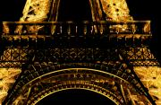 Paris Metal Prints - Eiffel Tower Arch Metal Print by Chris  Brewington Photography LLC