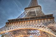 Eiffel Tower Print by Barry R Jones Jr