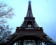 ShatteredGlass Photography  - Eiffel Tower Blues