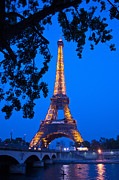 Tour Eiffel Photo Posters - Eiffel Tower II Poster by Jon Berghoff