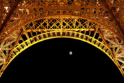 Gebaeude Prints - Eiffel Tower Print by Joerg Lingnau