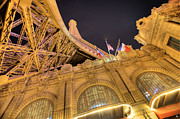 Nba Art - Eiffel Tower Las Vegas by Nicholas  Grunas
