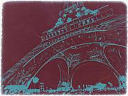 Eiffel Tower Print by Naxart Studio