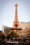 Las Vegas Prints - Eiffel Tower Nevada Print by Andy Smy