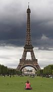 Eiffel Tower. Paris Print by Bernard Jaubert
