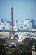 French Culture Metal Prints - Eiffel Tower Metal Print by Photo by Daniel A Ferrara
