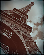 Eiffel Tower Print by Tatiana Parmeeva