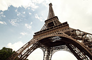 Traditional Culture Prints - Eiffel Tower Print by Timothylui1105