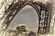 Chuck Kuhn - Eiffel Tower Up close III